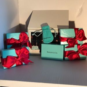Listing is for ONE Tiffany box, Ribbon, and pouch